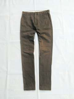Size 29 Celana Chino Chinos GAP Original not uniqlo hnm