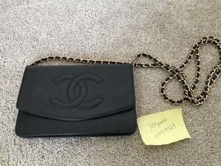 Chanel timeless WOC on chain bag