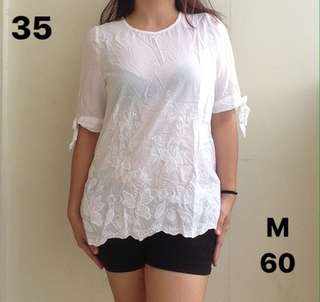 Affordable white blouse