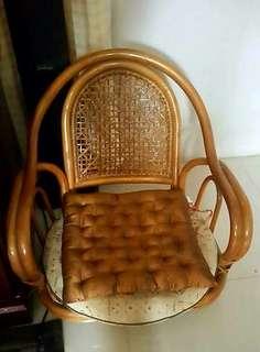 Japanese Rattan Chairs