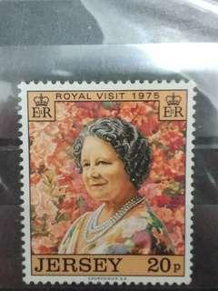 英皇太后1975年郵票(無印)