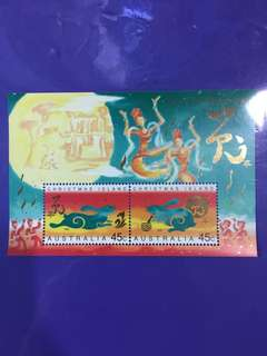 Australia Christmas Island 1999 Year of The Rabbit Miniature Sheet