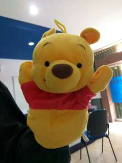 Hand Puppet Winnie the Pooh