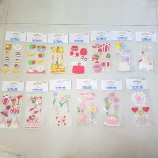 Scrapbooking craft - 3d pop-up stickers