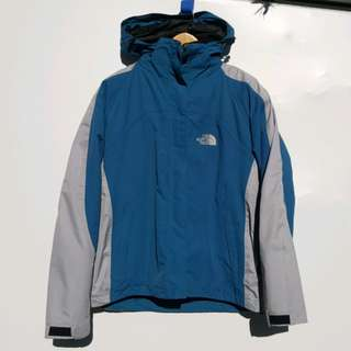 The North Face Hooded Jacket Summit Series Women's L Blue