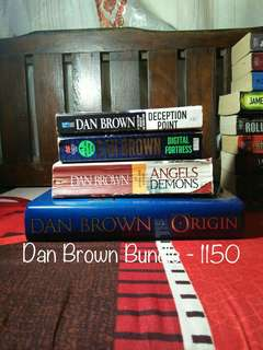 Book Bundle 7- Dan Brown