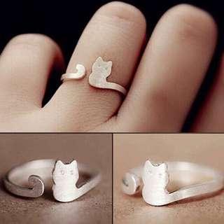 Adjustable Cat Ring