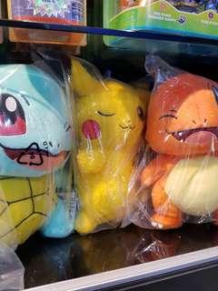 Pokemon Plush toys!