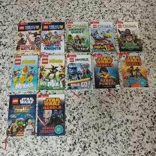 LEGO storybooks (12 books per set)