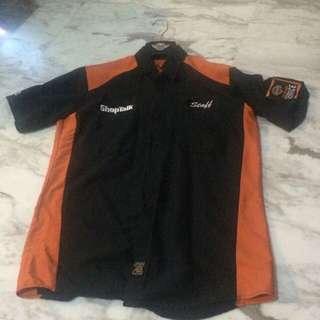 Pre love Harley Davidson staff shirt