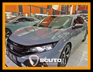 Laminating mobil honda civic