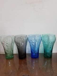 Coca cola glass cup