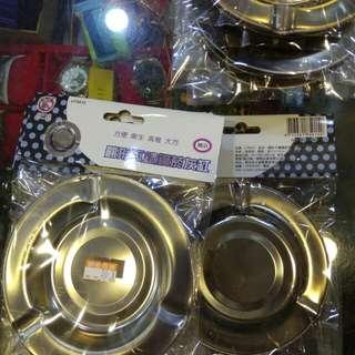 圓形不繡鋼煙灰缸30元限來店買點我頭像看店址和上千種商品