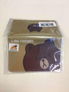 包郵 Line friends Brown 熊大卡套