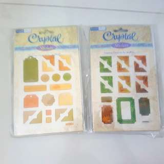 Scrapbooking craft - stickers