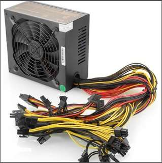 1600W-1800W Power Supply PSU - For PC & Mining Rig