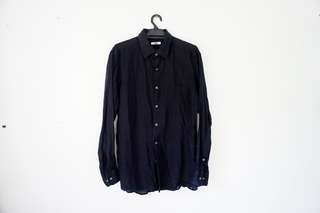 Uniqlo Long Sleeve Shirt  (L) *Buy any 2 for RM50*