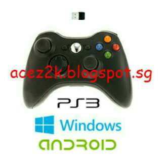 [BN] PC / Android / PS3 Wireless Bluetooth Controller (Brand New)