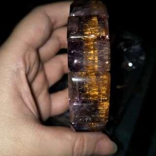 🚚 黃金紫鈦手排