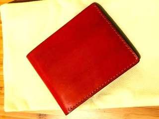Handmade Horween Cordovan wallet