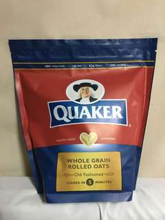 Quaker Whole Grain Rolled Oats Old Fashioned 1.2kg