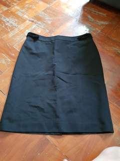 G2000 Black office Pencil Skirt