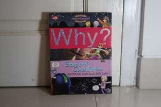 Buku Why? Stars and Constellation (Bintang Dan Rasi Bintang)