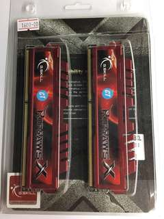 G SKILL RIPJAWS 2x 4GB DDR3 1600MHz RAM