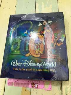 Limited Edition 2001 Walt Disney Photo Album