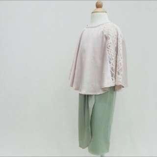 Silky lace caftan kurung / new rm100+