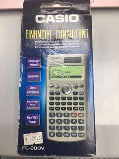 Casio 考試用計數機