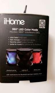 Bluetooth speaker IHome Brand