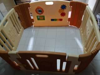 Teddy Bear Play Yard FREE POSTAGE