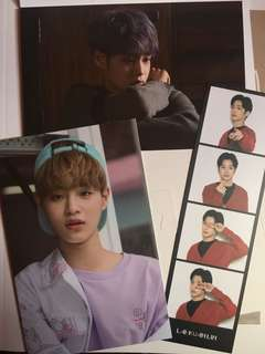 Wanna One Photo Essay換卡