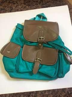 Grab Bluegreen Backpack