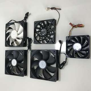 120mm Fans Assorted