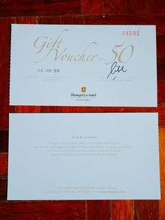 Shangri-La KL Hotel Gift / Cash Voucher (RM300 Value)
