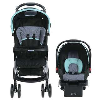 Graco Click Connect Stroller Carseat Set