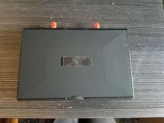 穿越 四軸機 5.8g 顯示器 雙接收 dvr 7寸 連支架