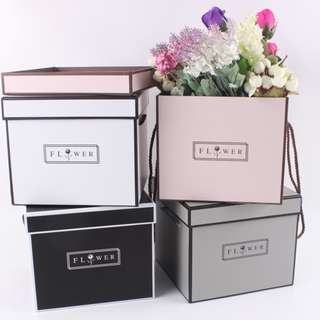 Flowers & Gifts Box-Square Paper Box-Candy & Chocolate Box-Preserved Flowers Box