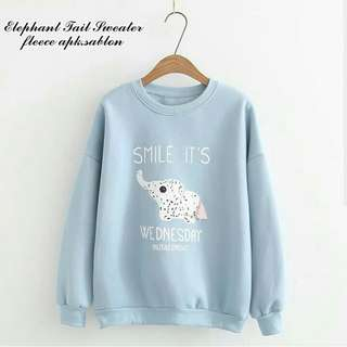 Elephant tail sweater