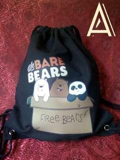 We Bare Bears String Bag 🐼🐻