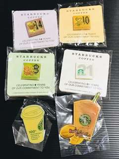 Starbucks Pins