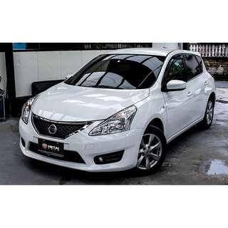 2016 Nissan BIG Tiida 白