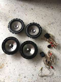Clarion 2way speaker set