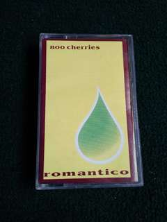 Kaset 800 cherries, romantico, ffwd records