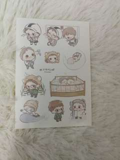 EXO Oreobabe bed stickers