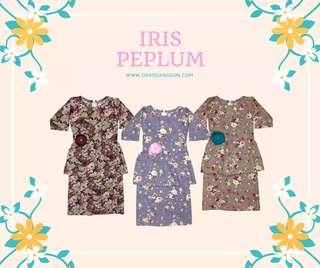 Baju Peplum Raya Kids (Iris Peplum)