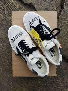 Sepatu vans old skool x off white