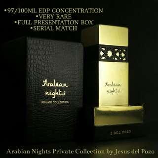 Arabian Nights Private Collection Jesus del Pozo 100ml